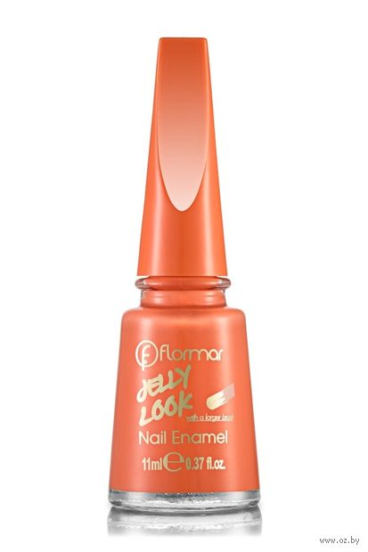 "Лак для ногтей ""Jelly Look Nail Enamel"" (тон: 03, coral red) — фото, картинка"
