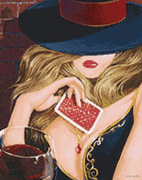 "Алмазная вышивка-мозаика ""Притягательная незнакомка"" (380х480 мм) — фото, картинка"