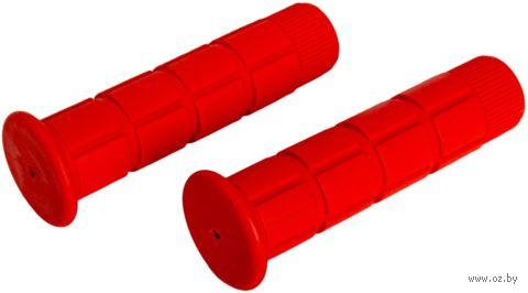 """Грипсы для велосипеда """"HL-G101"""" (красные) — фото, картинка"""