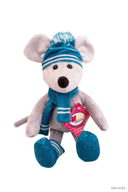 """Мягкая игрушка """"Мышонок в шапке"""" (40 см) — фото, картинка"""