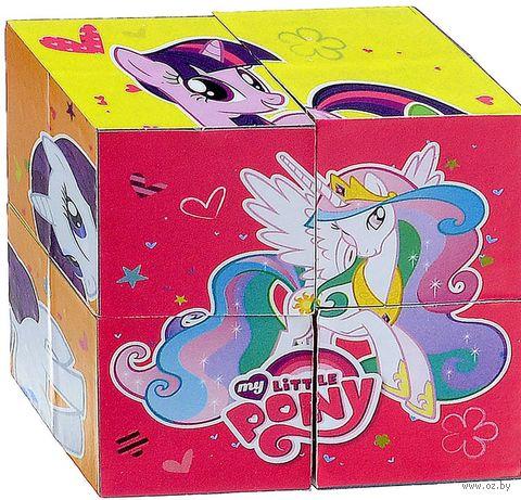 """Кубики """"My Little Pony"""" (4 шт)"""