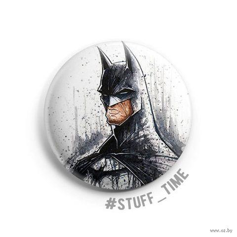 "Значок маленький ""Бэтмен"" (арт. 446) — фото, картинка"