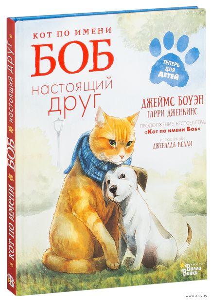 Кот по имени Боб - настоящий друг — фото, картинка