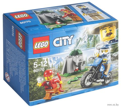 "LEGO City ""Погоня на внедорожниках"" — фото, картинка"