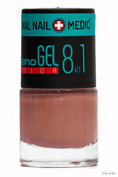 """Лак для ногтей """"Nano Gel Color"""" (тон: 04, золотисто-коричневый) — фото, картинка"""