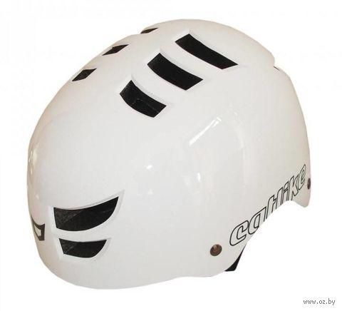 """Шлем велосипедный """"360°"""" (белый) — фото, картинка"""