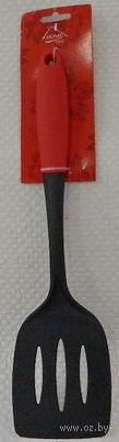 Лопатка кухонная пластмассовая термостойкая (345 мм; арт. KL31A08-A16)