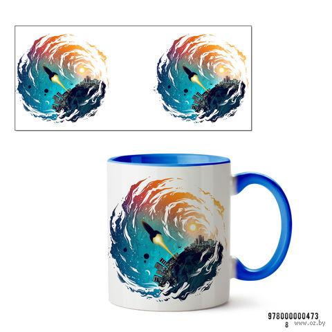 "Кружка ""Ракета"" (арт. 473, голубая)"