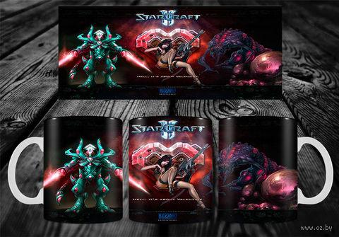"Кружка ""StarCraft"" (арт. 28) — фото, картинка"