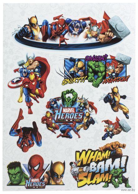 "Набор виниловых наклеек №18 ""Marvel"" — фото, картинка"