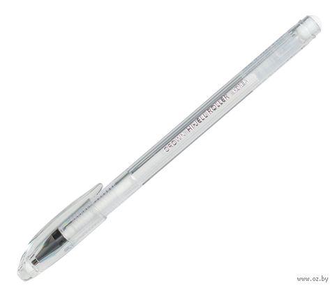 Ручка гелевая (пастель, белая, 0,8 мм)