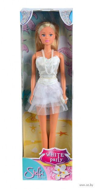 "Кукла ""Штеффи в белом летнем платье"" — фото, картинка"