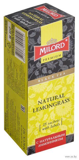 """Чай черный """"Milord. С натуральным лимонником"""" (25 пакетиков) — фото, картинка"""