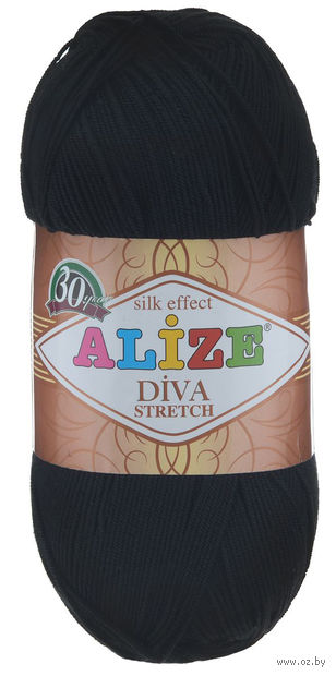 "Пряжа ""ALIZE. Diva Stretch №60"" (100 г; 400 м) — фото, картинка"