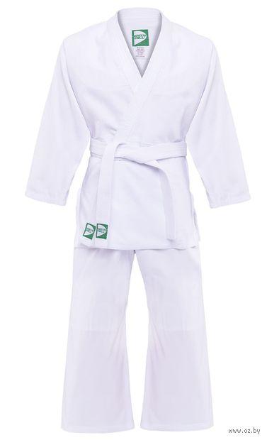 Кимоно для дзюдо MA-301 (р. 2/150; белое) — фото, картинка