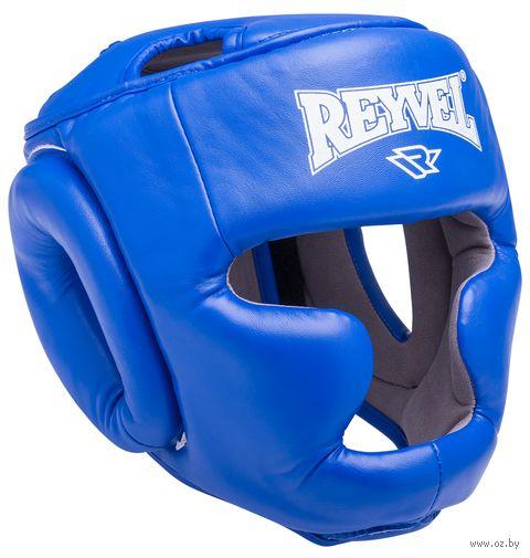 Шлем закрытый RV- 301 (L; синий) — фото, картинка