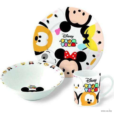 """Набор для завтрака """"Tsum Tsum"""" (3 предмета) — фото, картинка"""