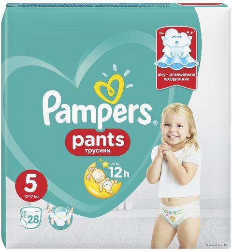 """Подгузники-трусики """"Pants Junior"""" (12-17 кг; 28 шт.) — фото, картинка"""