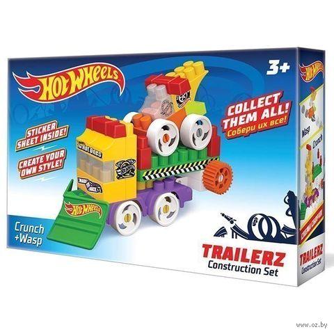 "Конструктор ""Hot wheels. Trailerz Crunch+Wasp Bauer"" (36 деталей) — фото, картинка"