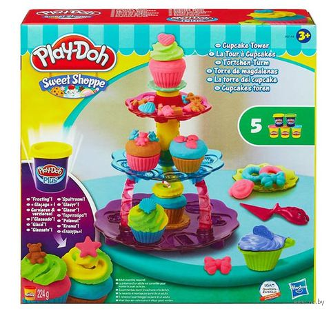 "Набор для лепки ""Play-Doh. Башня из кексов"""