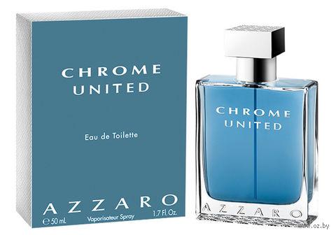 """Туалетная вода для мужчин Azzaro """"Chrome United"""" (50 мл)"""