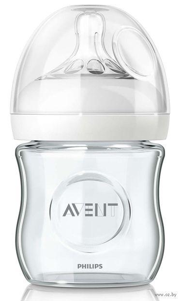 """Бутылочка стеклянная для кормления """"Natural"""" (120 мл) — фото, картинка"""