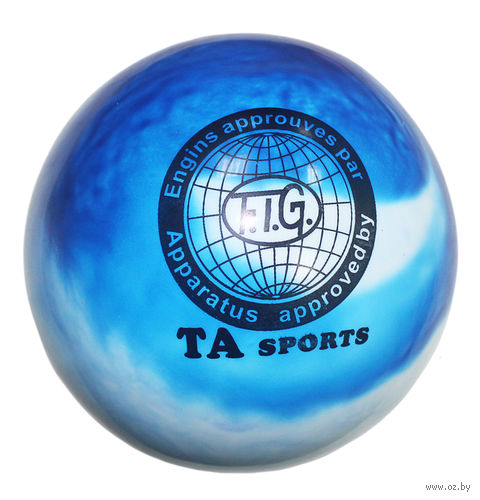 Мяч для художественной гимнастики T8 (перламутровый) — фото, картинка