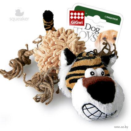 """Игрушка для собак с пищалкой """"Тигр"""" (36 см) — фото, картинка"""