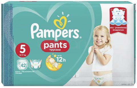 """Подгузники-трусики """"Pants Junior"""" (12-17 кг; 42 шт.) — фото, картинка"""