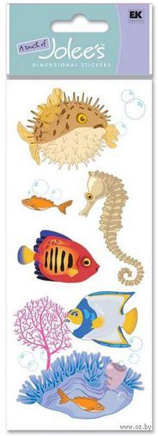 """Стикеры для скрапбукинга """"Джоли. Морские животные"""" (арт. EKS-SPJJ160)"""