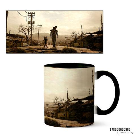 """Кружка """"Fallout 3"""" (560, черная)"""
