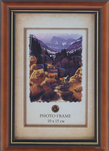 "Фоторамка деревянная ""DeLuxe Carol"" (10х15 см) — фото, картинка"