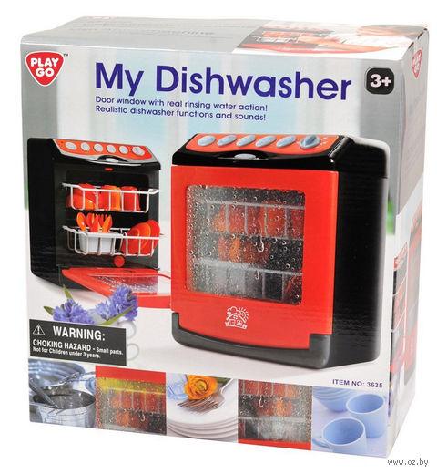 """Игровой набор """"Посудомоечная машина"""" (со звуковыми эффектами) — фото, картинка"""