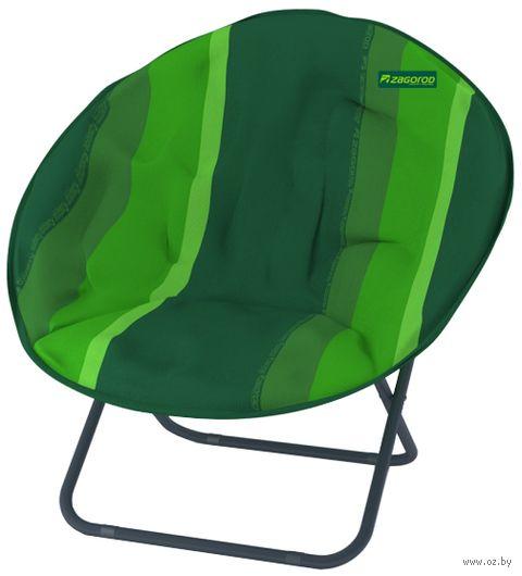 """Кресло """"Гриб"""" (зелёное; арт. К304) — фото, картинка"""