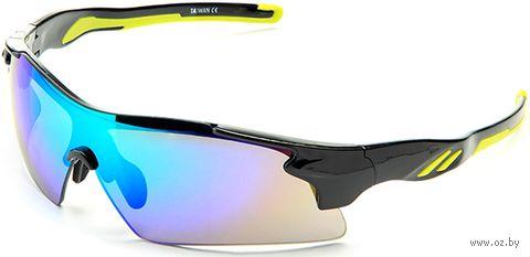 """Очки солнцезащитные """"S-14058-B"""" (чёрные) — фото, картинка"""