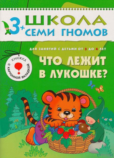Что лежит в лукошке? Для занятий с детьми от 3 до 4 лет. Дарья Денисова