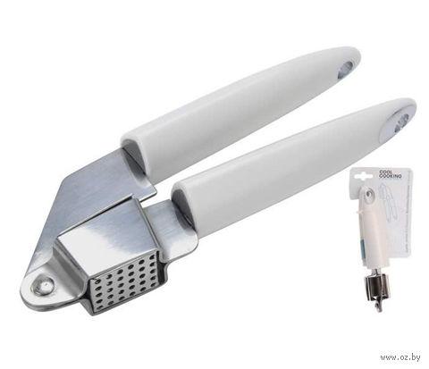 Пресс для чеснока металлический (180х60 мм)