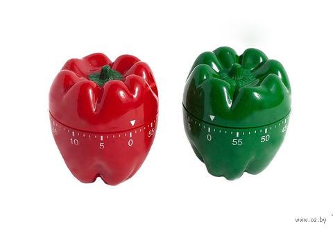 "Таймер кухонный пластмассовый ""Перец"" (6,6*7,5 см, арт. 4440001)"