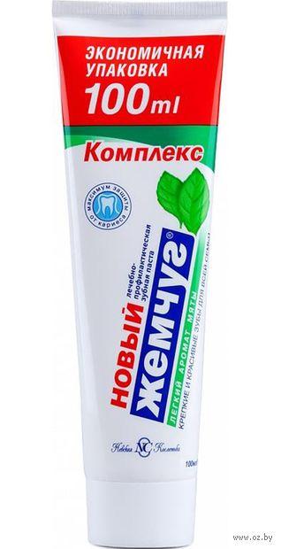 """Зубная паста """"Комплекс. Легкий аромат мяты"""" (100 мл) — фото, картинка"""