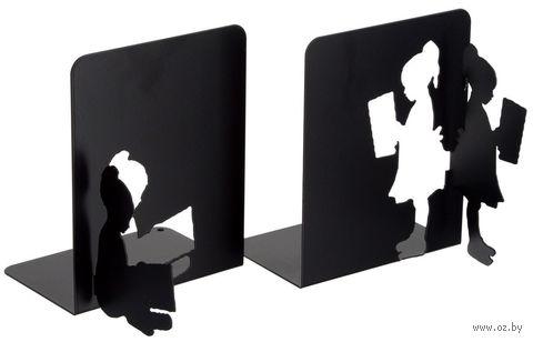 """Декоративная подставка-ограничитель для книг """"В библиотеке"""" — фото, картинка"""