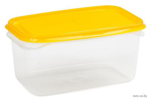 """Контейнер для еды """"Venecia"""" (0,5 л; лимон) — фото, картинка"""