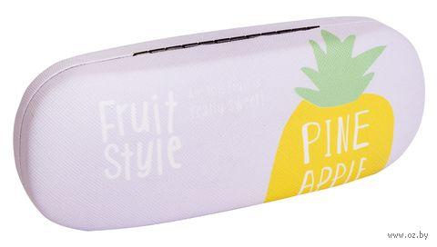 "Футляр для очков ""Fruit Style. Ананас"" — фото, картинка"
