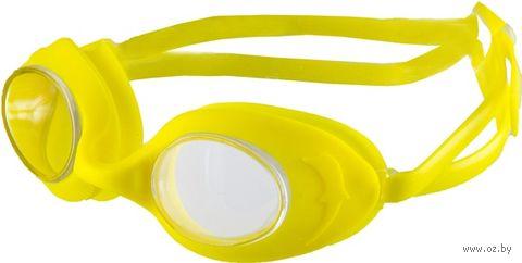 Очки для плавания (жёлтые; арт. N7902) — фото, картинка