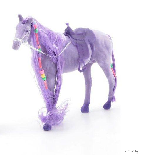 """Фигурка """"Лошадь с косой"""" (фиолетовая)"""