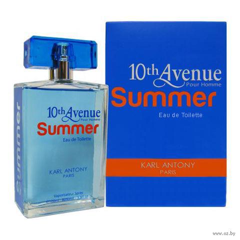 "Туалетная вода для мужчин ""10th Avenue. Summer"" (100 мл) — фото, картинка"