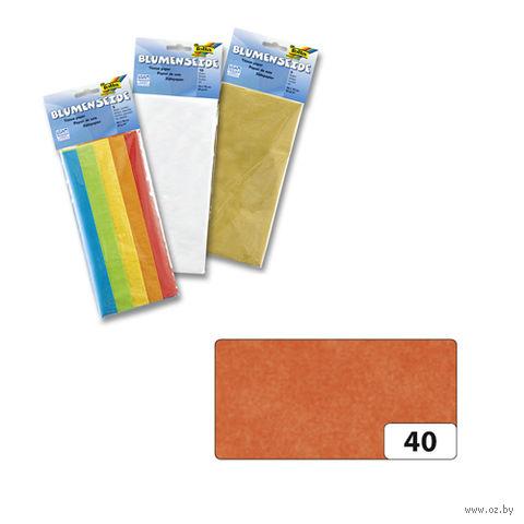 Бумага папиросная (оранжевый; 500х700 мм; 5 листов)