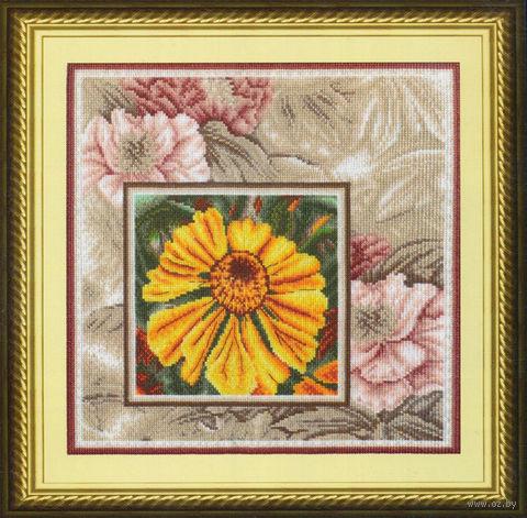 """Вышивка крестом """"Солнечный цветок"""""""