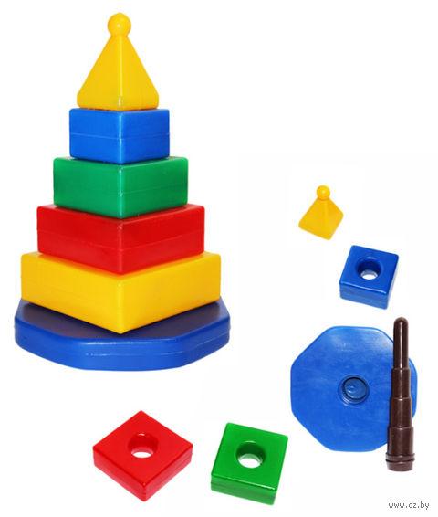 "Пирамидка ""Квадро"" (6 элементов) — фото, картинка"