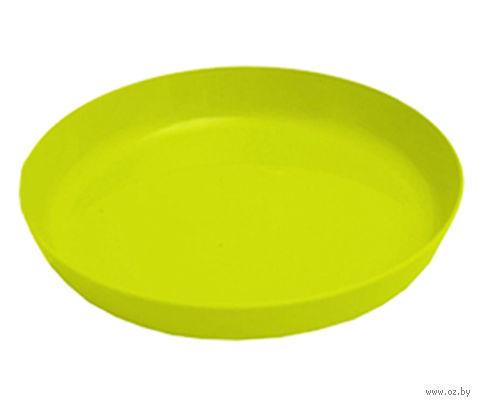 """Подставка для цветочного горшка """"Ага"""" (15,5 см; лимонная) — фото, картинка"""