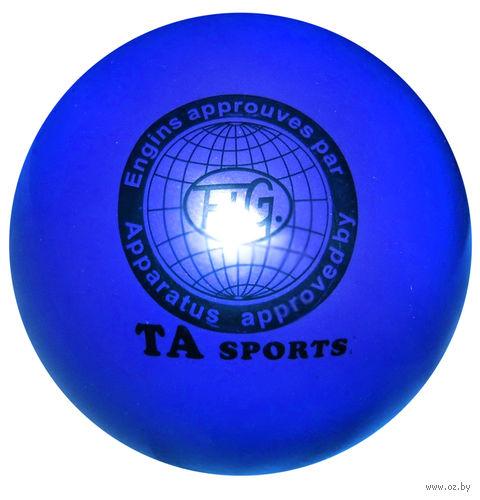 Мяч для художественной гимнастики T8 (синий) — фото, картинка